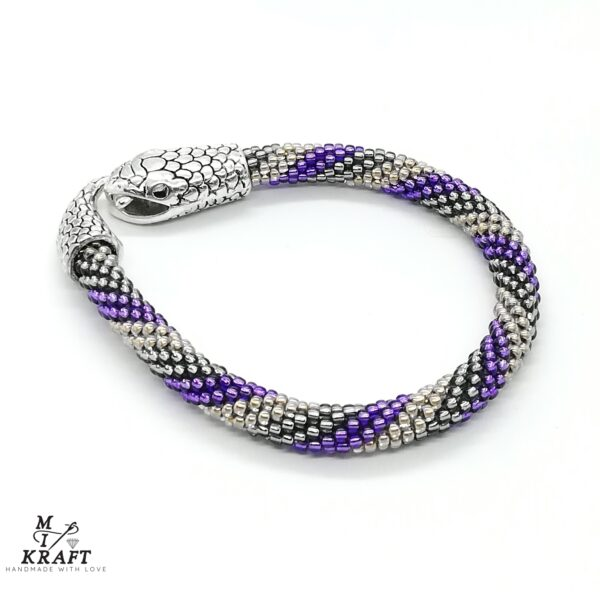 Bransoletka Purple Serpent